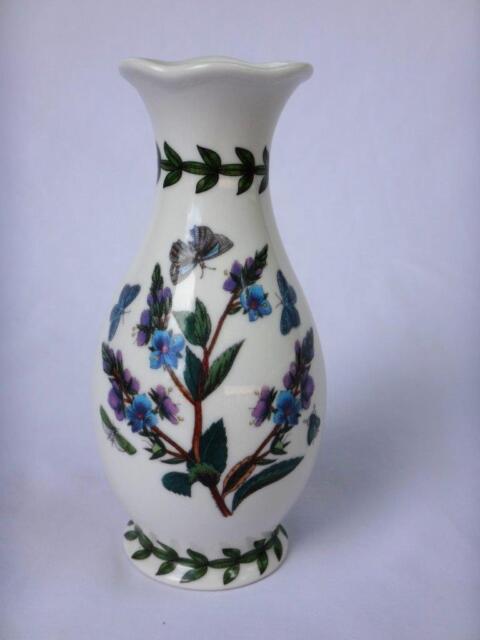 Portmeirion Botanic Garden Bud Vase Floral W Butterflies Ebay