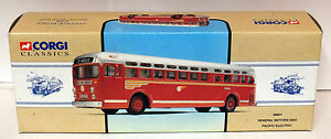 CORGI CLASSICS PACIFIC ELECTRIC GM 450298601 - <span itemprop=availableAtOrFrom>ROWLANDS GILL, Tyne and Wear, United Kingdom</span> - Full refund given if you are not happy with your purchase. I will also refund your return postage cost via paypal. Most purchases from business sellers are protected  - ROWLANDS GILL, Tyne and Wear, United Kingdom