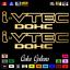 """thumbnail 29 - (2)x i-VTEC DOHC ivtec 11"""" emblem Vinyl Sticker Honda Civic Decal JDM drift 006"""
