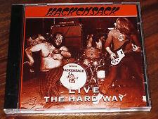 HACKENSACK - LIVE THE HARD WAY - HARD  ROCK - NEW