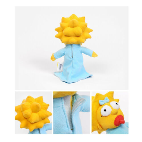 "8.7/"" 22Cm Official Licensed Simpsons Maggie Simpson Plush Toys Soft Stuffed Doll"