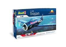 """Revell 05726 T-28B Trojan """"El volador toros's Gift Set 1/48 escala libre poste de T48"""