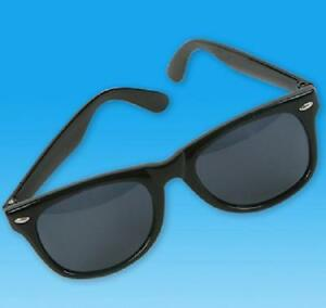 1-Pair-BLUES-BROTHERS-Wayfarer-Sunglasses-Black-Frames-Retro-AA74-Free-Shipping