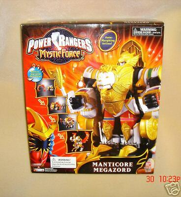 NEW POWER RANGER RANGER RANGER MANTICORE MEGAZORD BANDAI GREAT GIFT 73dd1a