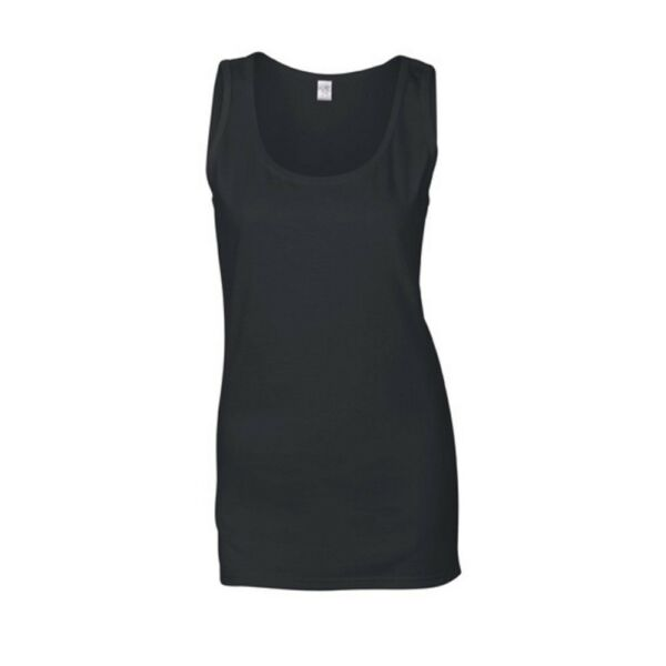 Gildan Lady Fit Ladies Damen Tank Top Tanktop T-Shirt Softstyle Soft Trägershirt