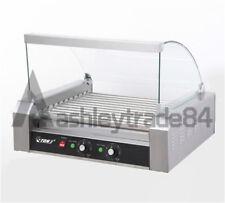 165kw Commercial 11 Roller Hot Dog Grill Cooker Machine 220v