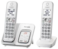 Panasonic KX-TGD532W Expandable Cordless Phone w/ Call Block & Answering Machine