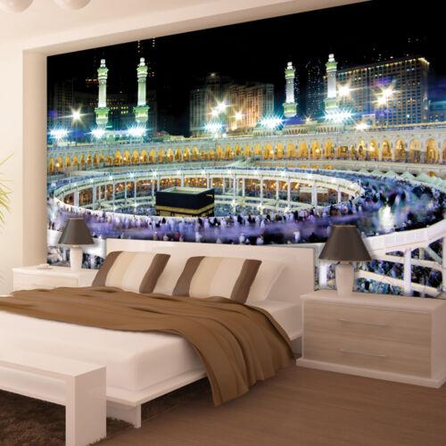 VLIESTapete Fototapete Tapeten Stadt Kaaba Islam Mekka Hadsch Allah 14N3336VEXXL