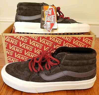 Vans Sk8 Mid Reissue G MTE Forged BlackRed Mens Skate Shoes Size 7 VN0A3TKQUCR   eBay