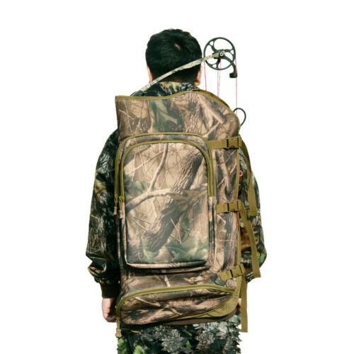 New Outdoor Archery Compound Bow Bag Case Holder Backpack Hunting Bow Rifle Bag