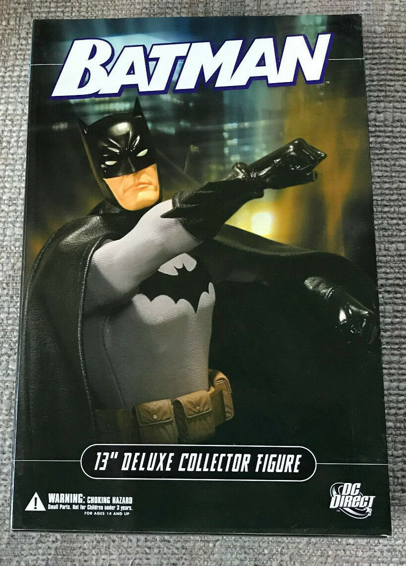 DC DIRECT 13  DELUXE COLLECTOR EDITION BATMAN WITH BOX 1 6 SCALE