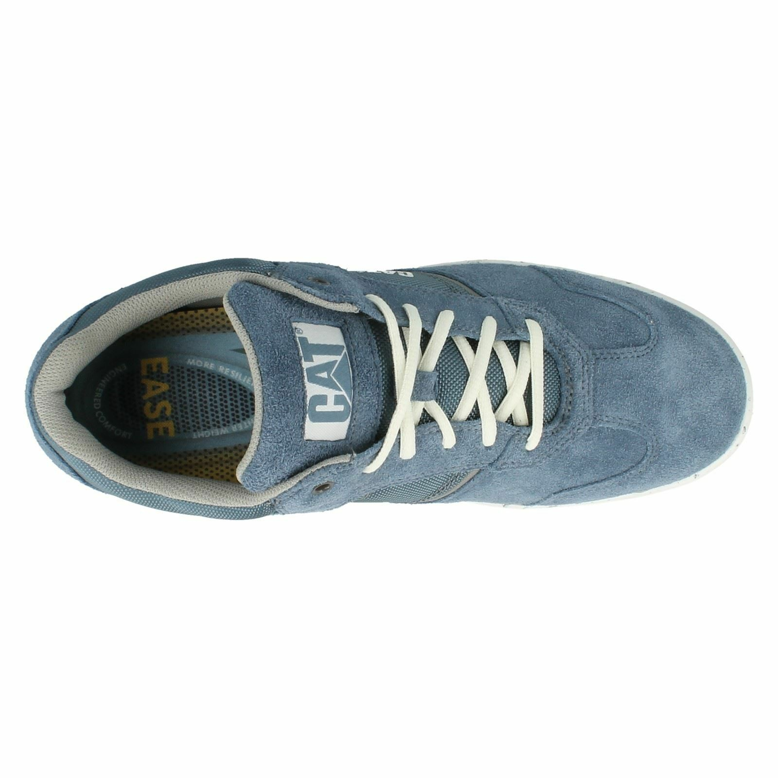 Herren Dunkelgrau/Blau Zum Schnüren Leder 11 Caterpillar Turnschuhe UK-Größen 6 11 Leder 5cdf0f