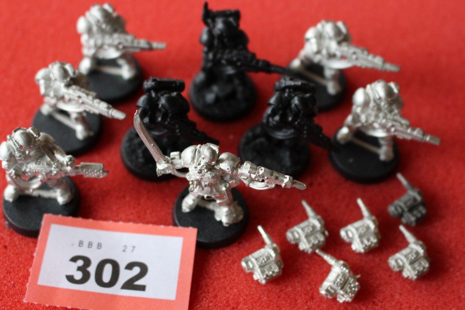 giocos lavoronegozio WARHAMMER 40k kasrkin Stormtrooper Squad di mettuttio 9  cifra fuori catalogo B3  vendendo bene in tutto il mondo