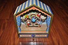 Rare Koji Murai Clown Museum Little Clown Animated Music Box- Bolero Tune