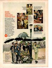1967 COCA-COLA / COKE - THE VAUDEVILLES BAND  ~  CLASSIC ORIGINAL 60'S AD