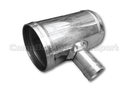 100mm length 28mm T-Piece Pipe Hose Fitting CMBTP2828 Alloy T-Piece 28mm OD