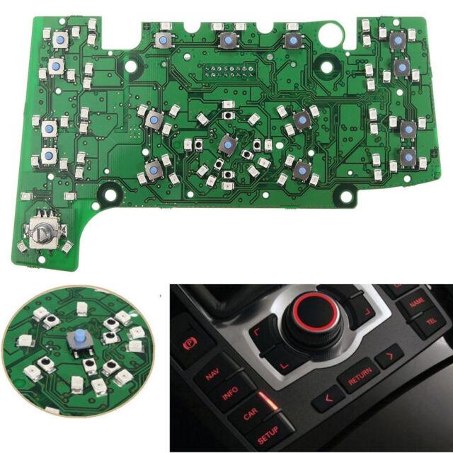 Multimedia MMI Control Panel Circuit Board w/ Navigation E380 for AUDI A6/A6L/Q7