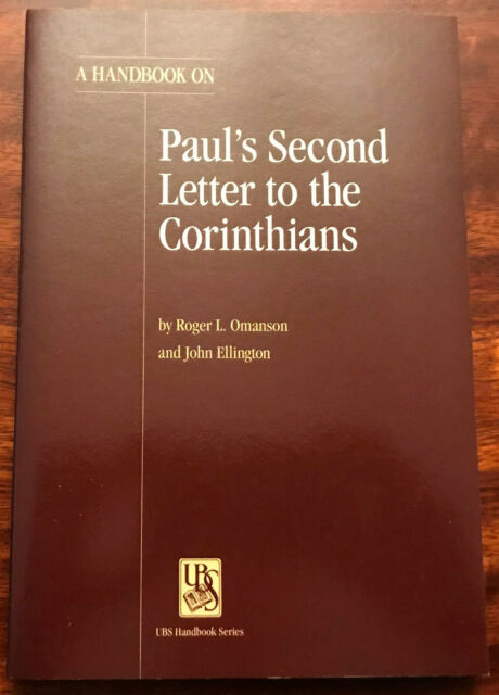UBS Helps for Translators UBS Handbook: A Handbook on Paul's Second Letter to...