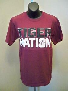 New Coahoma Community College Tiger Nation Mens Small Maroon Shirt