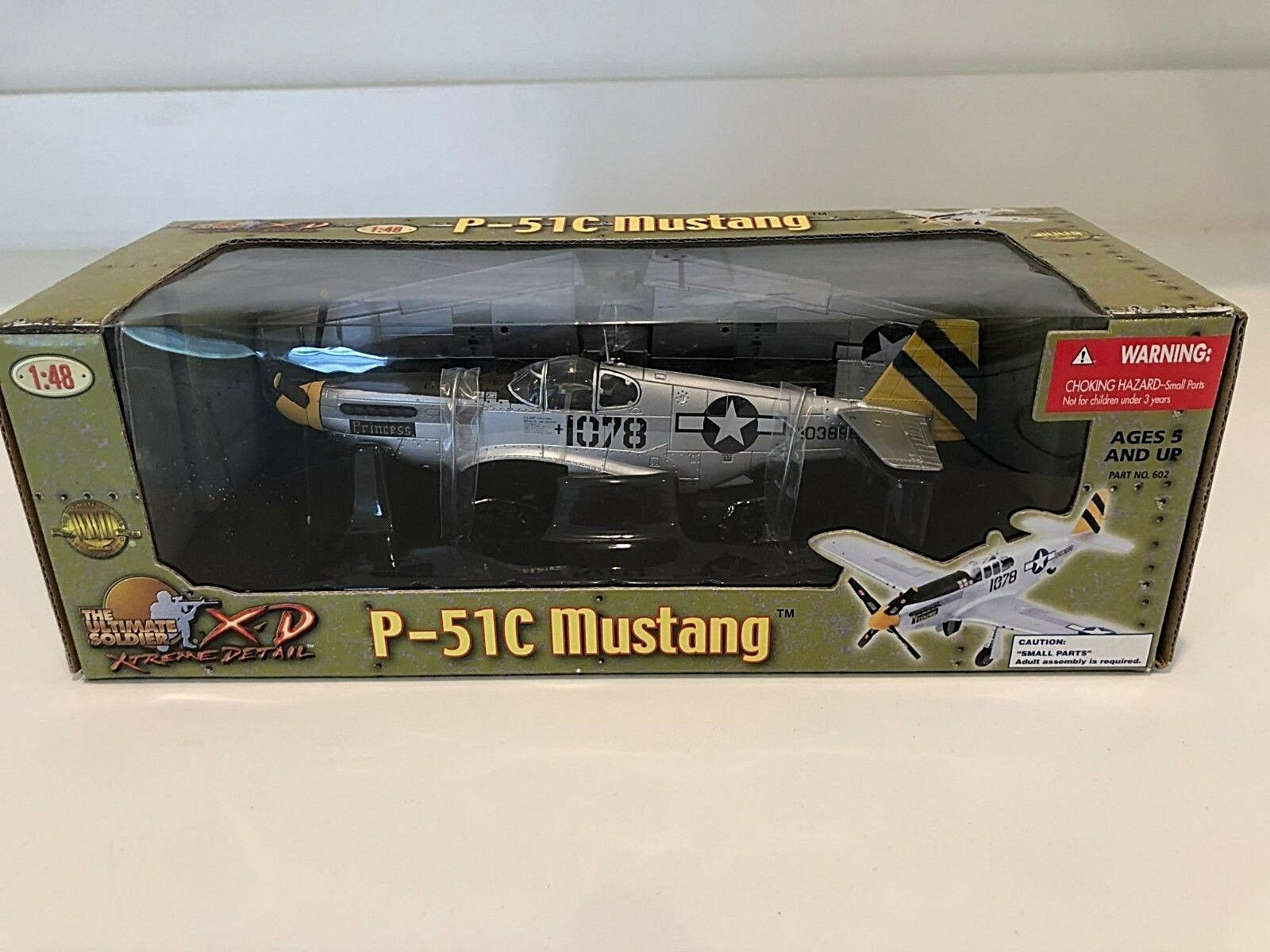 21st Century Toys P-51C Mustang Ultimate Ultimate Ultimate Soldier 1 48 PRINCESS Edition NIB a664ca