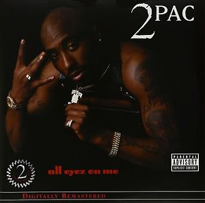 2Pac ALL EYEZ ON ME Gatefold REMASTERED Tupac Shakur NEW SEALED