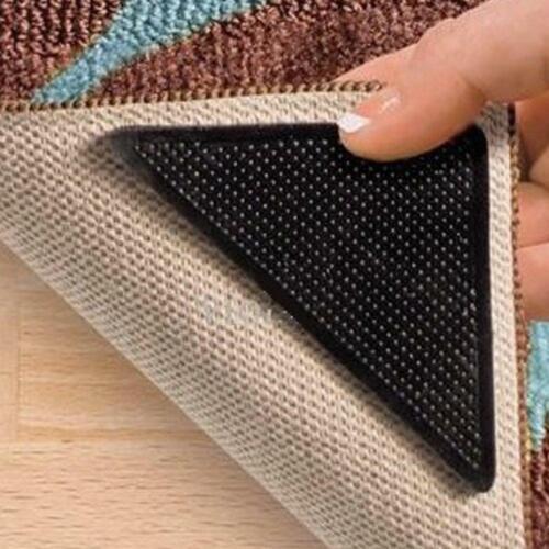 wiederverwendbar 8-teiliges Set Combined Brands Anti-Rutsch-Ecken für Teppiche