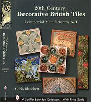 20th Century Decorative British Tiles, Commercial Manufacturers A-h