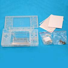 Para Nintendo DS Lite NDSL Shell Carcasa Funda Cubierta Transparente Protección de la piel