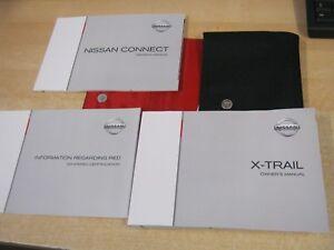 nissan x trail handbook owners manual wallet t32 2013 2017 inc sat rh ebay co uk Water Pump Nissan X-Trail Nissan X-Trail 2010