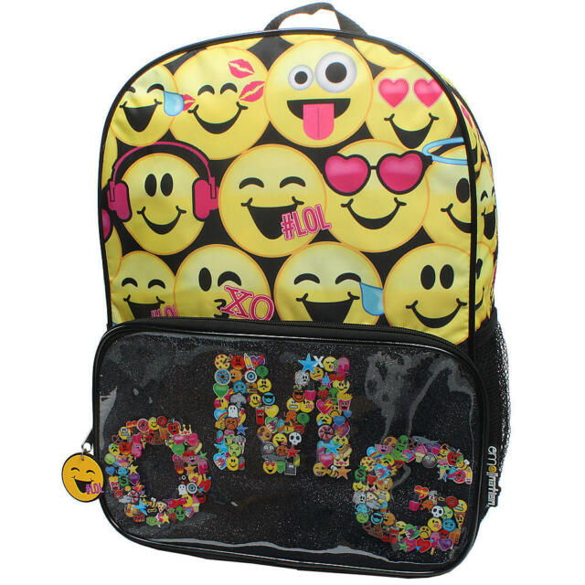Emojination Emoji Backpack OMG School Bag