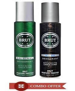 Brut And Musk Deodorant Men Deodorant 200 ML (Pack of 2)