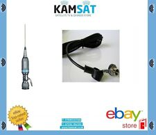CB ANTENNA SIRIO PERFORMER P5000PL MOBILE 27Mhz + RG58 Coax Cable for Roof Mount