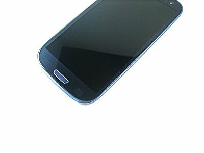 Blue LCD Display Touch Screen+Frame For samsung galaxy S3 Neo i9301 i9308i