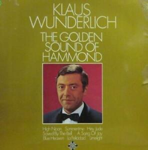 Klaus-Wunderlich-LP-Gatefold-The-Golden-Sound-Of-Hammond-Telefunken