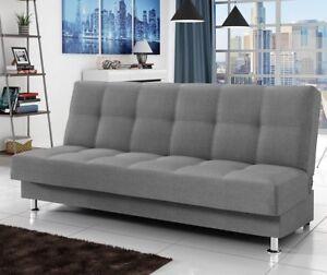 Details zu Sofa Enduro III Schlaffunktion Bettkasten Schlafcouch Ecke  Moderne Wohnzimmer