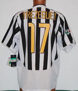 maglia-juventus-TREZEGUET-nike-2003-2004-fastweb-NUOVA-XL-scudetto-jersey-vintag