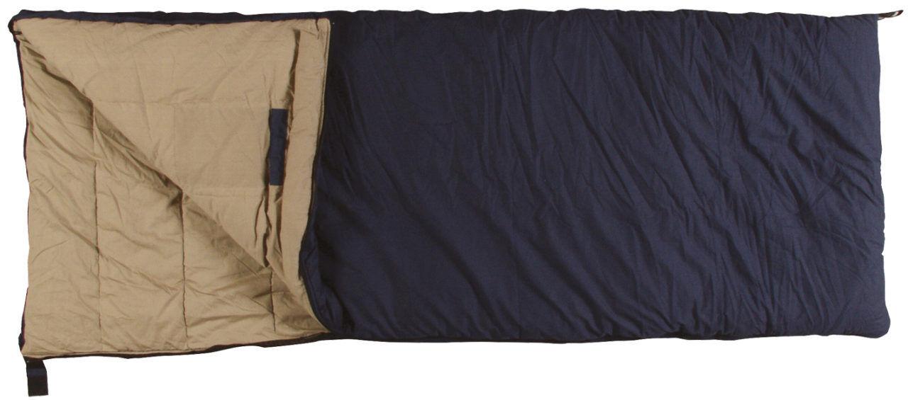 Active Leisure Deckenschlafsack aus Baumwolle-Comfort Anglerschlafsack
