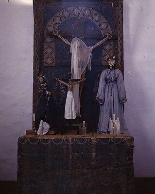 Roman Catholic Church Gilded Interior Altar Photo Poster 18x12 inch