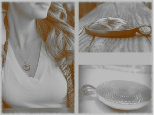 Vintage Ballet Girl Cabochon Tibetan Silver Glass Chain Pendant Necklace NEW