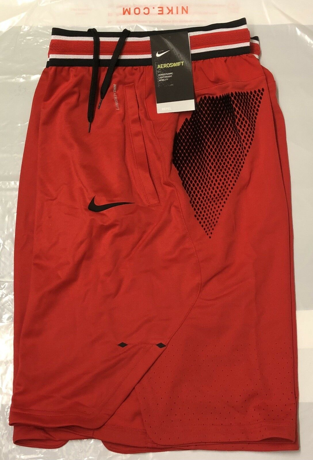 "NIKE AEROSWIFT MENS  9"" BASKETBALL SHORTS BRAND NEW WITH TAGS XXL TALL"