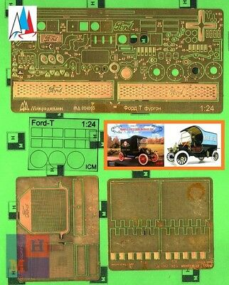 """1//35 /""""Ford-T/"""" ambulance by /""""Microdesign/"""" 035222 multimedia upgrade set"""