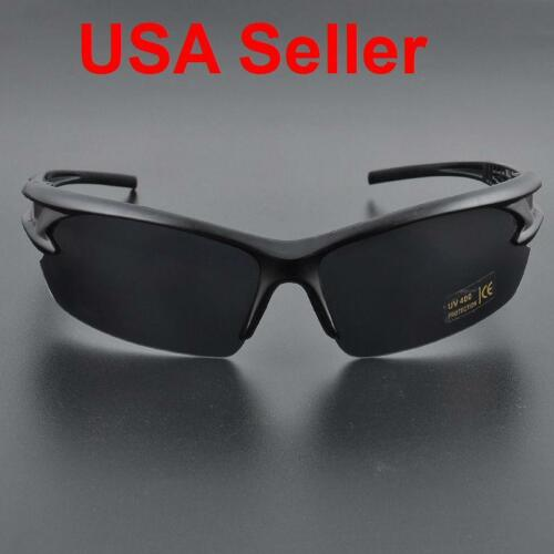 Pro Mens UV400 Polarized Sunglasses Driving Goggles Outdoor Cycling Glasses