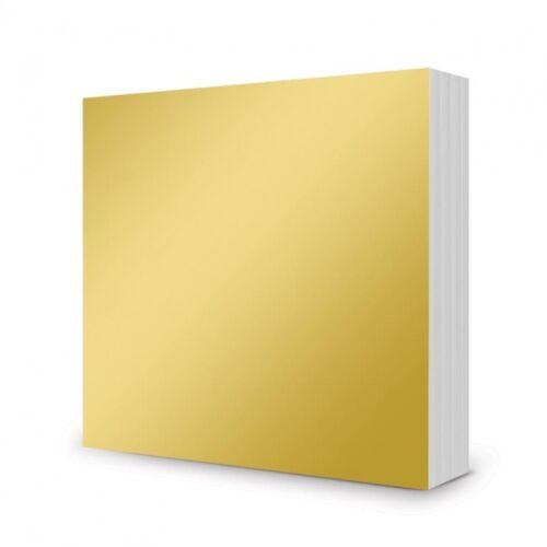 100 x 6 x 6 Sheets Mirri-Mats Rich Gold Hunkydory