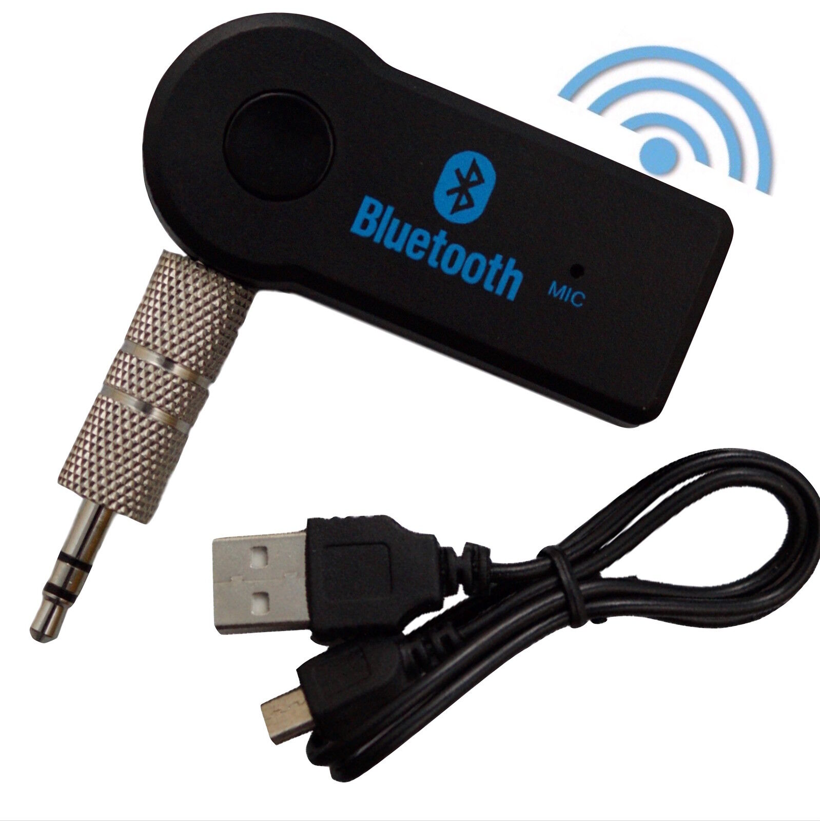 Bluetooth AUX IN Adapter Dongle Musik Audio Stereo Radio Auto Wireless Empfänger