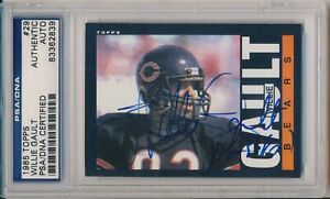 1985 Topps Football Willie Gault Signed Card #29 Vintage Auto PSA/DNA Inscribed