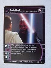 Star Wars TCG -  SR - Sith Rising - Darth Maul (A) 7/90 NM/Mint