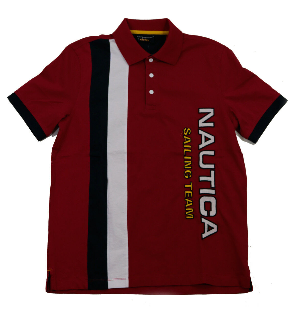 Nautica Lil Yachty Collection ROT PC Polo T-Shirt