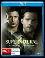 Supernatural : Season 11 (Blu-ray, 4-Disc Set) NEW