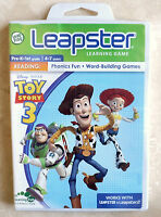 Leap Frog Leapster Disney Pixar Toy Story 3 Game Cartridge Software-
