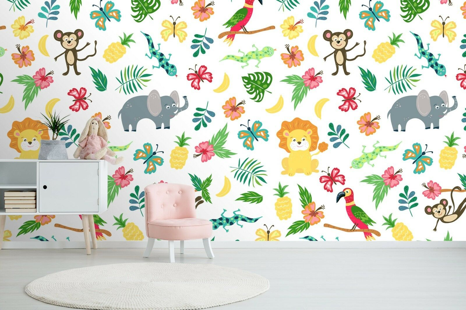 3D Plant Animal 7048 Wall Paper Print Wall Decal Deco Indoor Wall Murals US